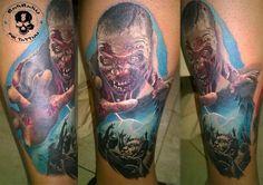 #tattoo #tattooist #tattoolife #tattooartist #tattoofreakz #tattoolifemag #tattooistartmag #tattooed_body_art #tattooistartmagazine #thebesttattooartists #thebestpaintattooartists #colortattoo #inkedmag #inkfreakz #crazytattoos #tattooalmeria #tattooed #terrortattoo #thewalkingdead #thewalkingdeadtattoo #zombies #zombiestattoo #deadisland #deadislandtattoo