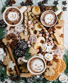 A Trader Joe's Christmas Dessert Board full of sugar and spice and everything nice. Christmas Goodies, Christmas Desserts, Holiday Treats, Christmas Treats, Christmas Baking, Holiday Recipes, Christmas Time, Halloween Christmas, Halloween 2020
