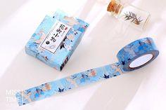 Flying Crane Washi Tape Japanese Style por SakuraSuppliesShop