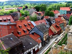 Will always remember our day trip to Quedlinburg, Germany. This town is a little gem in every sense.