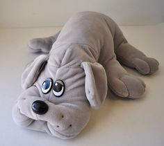 "Pound Puppies: I used to have a ton of them. One was a ""Mom"" one that had a zipper on her stomach for the little baby ones. I used to hide my money in there so my Mom wouldn't steal it from me. Sad, I know. But true."
