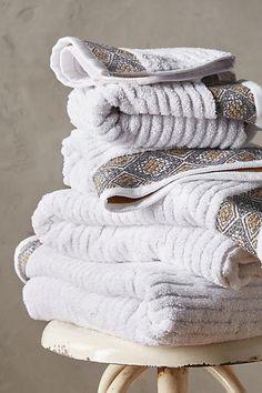 Rhombi Towel Collection - anthropologie.com