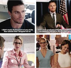 Arrow - Felicity & Oliver #1.3 #4.4 #Olicity <3<3<3