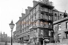An early photograph of the Bradford Empire, Great Horton Rd