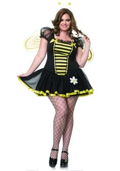Plus Size Honey Bee Costume...right size plus have all accessories. good price too
