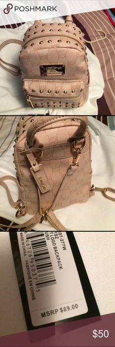 Bebe Mini Backpack NWT pink mini backpack bebe Bags
