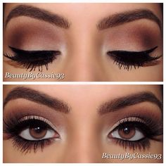 Smokey neutral look