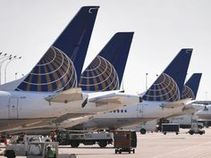 PHOTO: United Airlines jets sit at gates at OHare International Airport on September 19, 2014 in Chicago, Illinois.