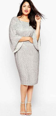 Plus size dress asos curve