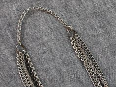 necklace chain close up
