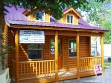 Small Cabin...12x18 with loft and 4x18 covered deck - may be our