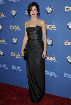 Sandra Bullock in Roland Mouret | Directors Guild Awards 2014