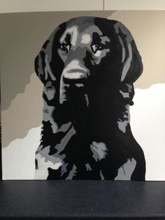 Twitter / dionysusart: My latest commission piece is nearing completion #pets #dogsinart #dogs #art #painting