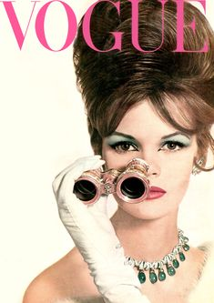 Vintage Vogue magazine covers: 1960s, 70s, 80s and 90s