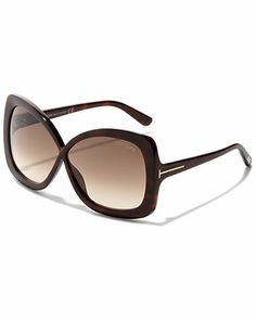 "Some of you have to get in on this: Tom Ford Women's ""Calgary"" Sunglasses"