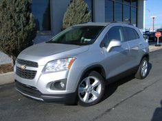 "The Brand New 2015 Chevy Trax! This is my current vehicle...in ""Silver Ice Metallic""."
