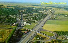 Vacaville, California on Highway 80- many years ago.