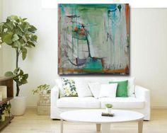 Abstract Painting Modern Art Original Acrylic door CherylWasilowArt
