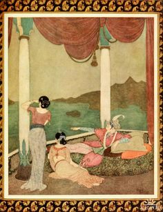 Princess Badoura, a tale from the Arabian nights (1913)