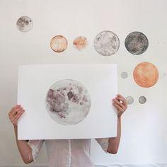 packing up moons | stella maria baer