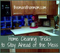 Home Cleaning Tricks to Stay Ahead of the Mess