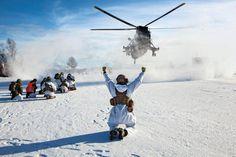 Chi approfitterà dei cambiamenti climatici - A Nato live fire excercise in Skjold, Norway