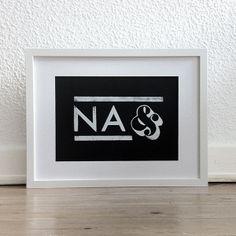 NA& von YEAHHamburg auf DaWanda.com
