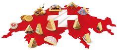 Käse Schweiz: Käsesorten Swiss Flag, Swiss Miss, Swiss Switzerland, Warm Fuzzies, Swiss Cheese, Organic Matter, Zurich, Vintage Posters, Beverage