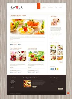 Perfect isn't it??   Clean Cooking WordPress Theme CLICK HERE! live demo  http://cattemplate.com/template/?go=2gWtwX6