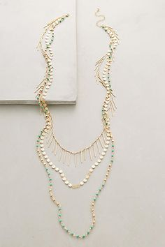 Turquoise Sabbatical Necklace - anthropologie.com