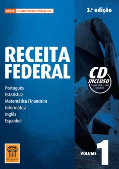 RECEITA FEDERAL 1 Série Concursos Públicos Editora Maximus/Curitiba-PR