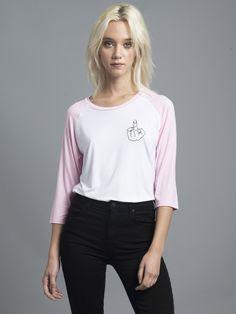 Pink F*ck Raglan Tee – NYLON SHOP