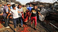 Dozens dead in ISIS suicide attack on Baghdad