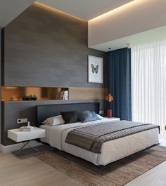 6 Quick Clever Tips: Minimalist Bedroom Men Walk In minimalist home with kids teen bedroom.Minimalist Bedroom Small Mirror minimalist home white living rooms.Minimalist Bedroom Men Walk In. Modern Master Bedroom, Master Bedroom Design, Trendy Bedroom, Minimalist Bedroom, Modern Minimalist, Bedroom Designs, Bedroom Small, Bedroom Black, Minimalist Decor