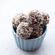 No-Bake Nutella Coconut Bites
