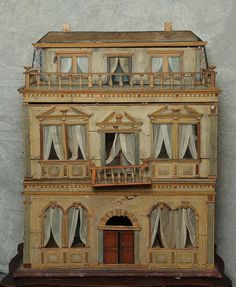1860'S Christian Hacker dollhouse | Flickr - Photo Sharing! #countryside #design