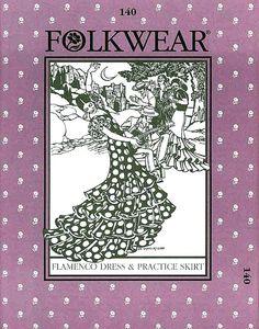 Artemis Imports - Belly Dance Store - Flamenco Dress and Practice Skirt ~ Folkwear