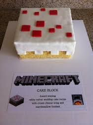 birthday cake minecraft