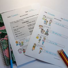 These avoir conjugation worksheets are perfect for Core French! French learners need to be familiar with avoir in all its forms. These print and go avoir worksheets are perfect for your Core French or late French immersion students!
