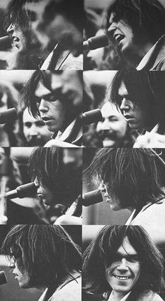 """foreverneilyoung: """" Neil Young playing with CSNY in 1969 """""""