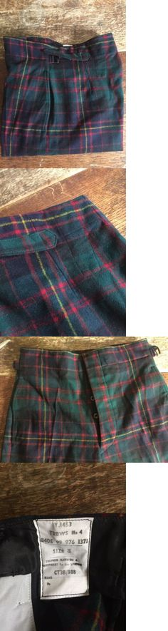 KILT FLY PLAID FORBES MODERN TARTAN 16OZ WORSTED WOOL MADE IN SCOTLAND FOR KILTS