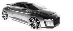 Audi TT Mk3 Render by Fourtitude.com