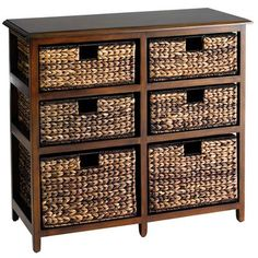 Hardwood Jolie Double Chest - Brown - Home Decor Furniture Ideas