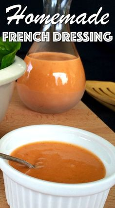 Creamy French Salad Dressing Recipe in 2 Easy Steps