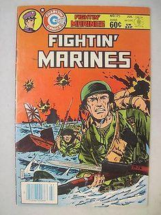 Fightin' Marines #163 July 1982 Charlton Comics Wwii & Korean War ...