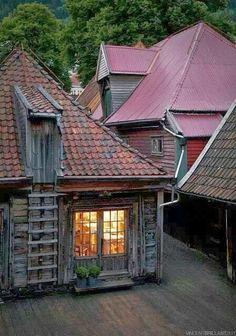 Old Town, Bergen, Norway                                                                                                                                                                                 More