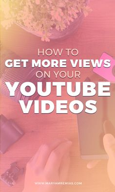 How to Get More Views on Youtube Videos   YouTube Video   More Views