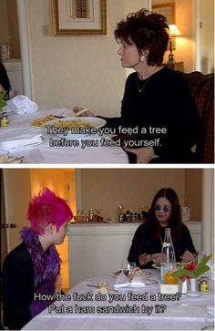 When Ozzy wasn't afraid to ask the hard-hitting questions: