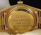 Christmas present Rolex Watch given to Elvis Presley is to be auctioned. The diamond-set Rolex and was given to Elvis by his long time man...