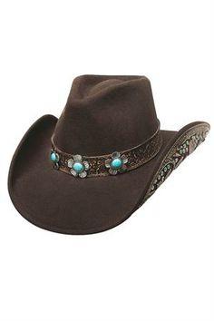 Bullhide Sweet Emotion Wool Cowgirl Hat f547105684bc